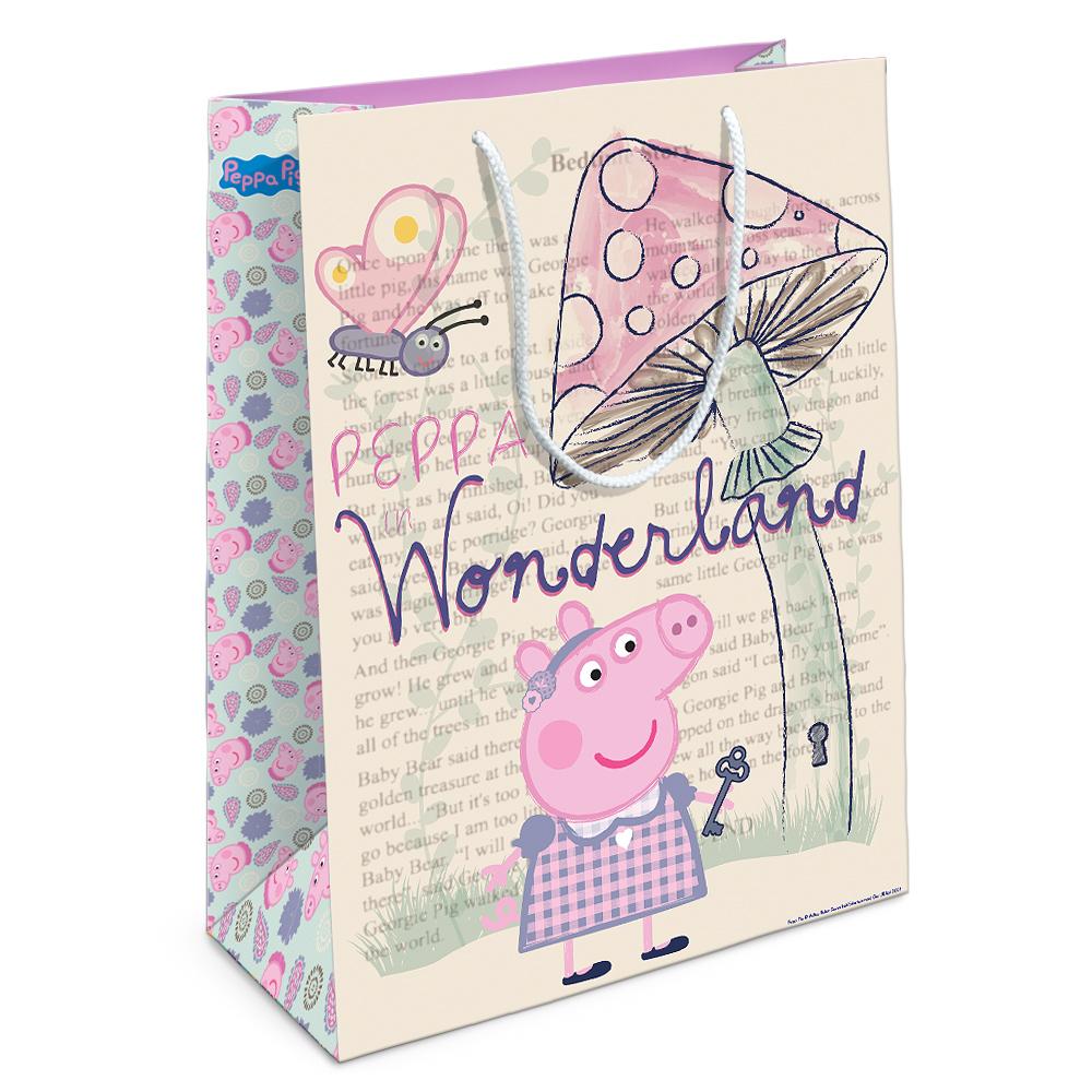 Подарочный пакет - Страна чудес ПеппыСвинка Пеппа Peppa Pig<br>Подарочный пакет - Страна чудес Пеппы<br>