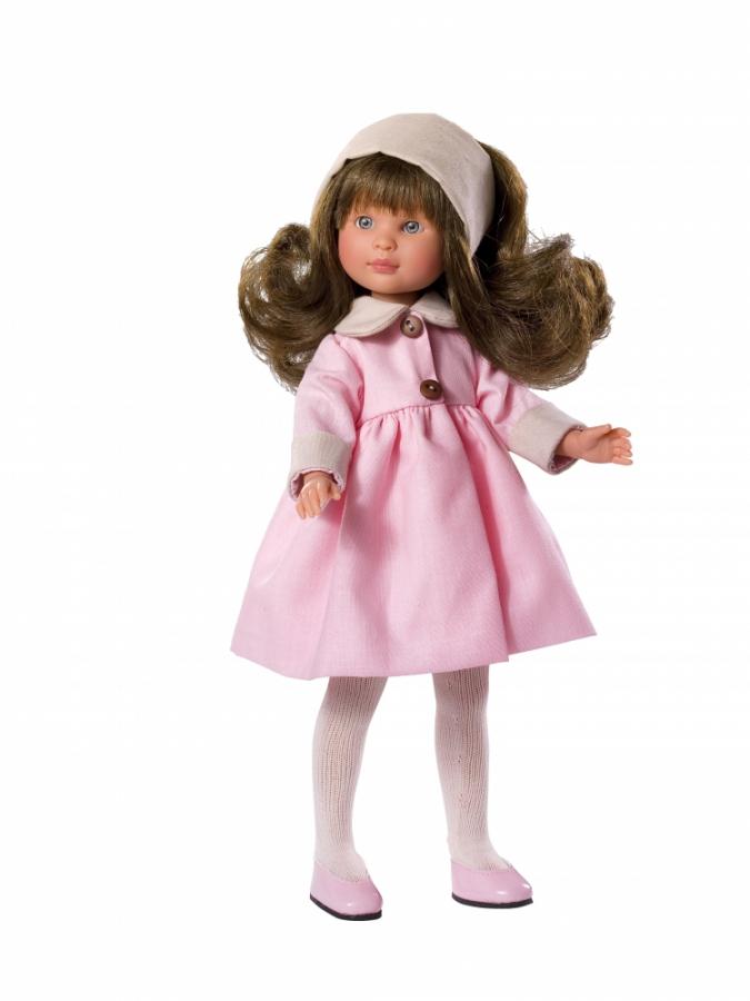 Кукла Селия в розовом пальто, 30 см.Куклы ASI (Испания)<br>Кукла Селия в розовом пальто, 30 см.<br>