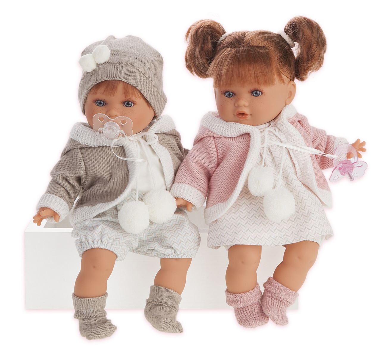 Купить Интерактивная кукла Ника, плачет, 30 см, Antonio Juans Munecas