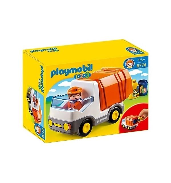Купить Игровой набор из серии 1.2.3.: Мусоровоз, от 1, 5 лет, Playmobil