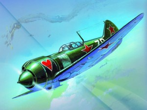 Купить со скидкой Сборная модель - Самолёт Ла-5ФН