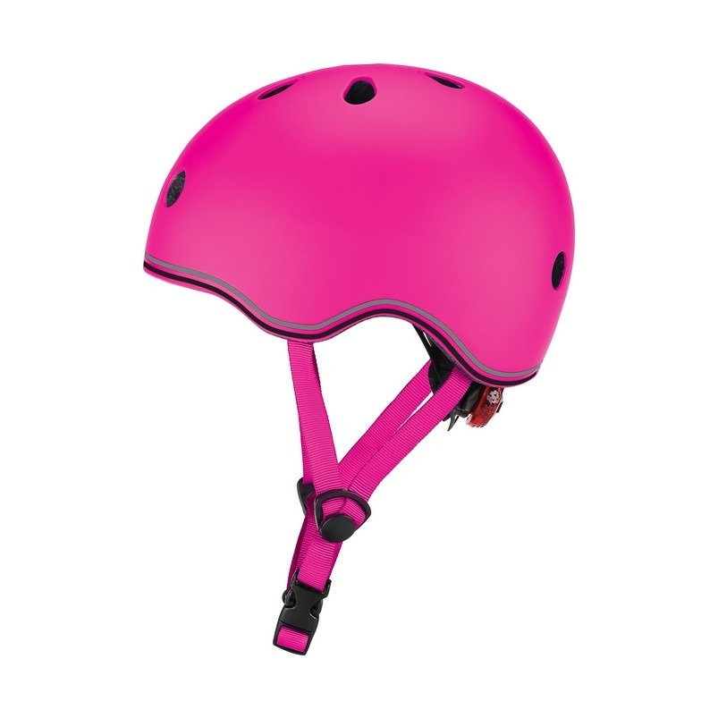 Шлем - Globber Evo Lights, XXS/XS, 45-51 см, розовый фото