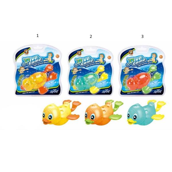 Игры с водой - Плавающий утенок с подсветкойУточки для ванны<br>Игры с водой - Плавающий утенок с подсветкой<br>