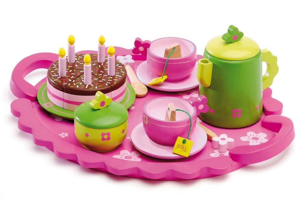 Игровой столовый набор - День рождения, с аксессуарамиАксессуары и техника для детской кухни<br>Игровой столовый набор - День рождения, с аксессуарами<br>