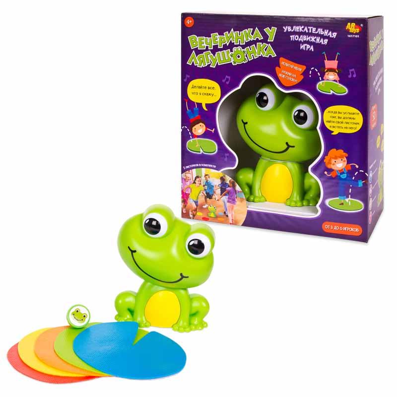 Интерактивная лягушка – Вечеринка Фрогги, звук, ZanZoon  - купить со скидкой