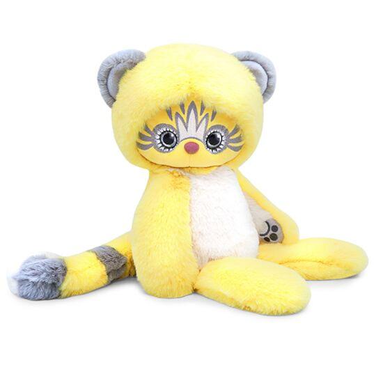 Мягкая игрушка - Лори Эйка желтый, 30 см