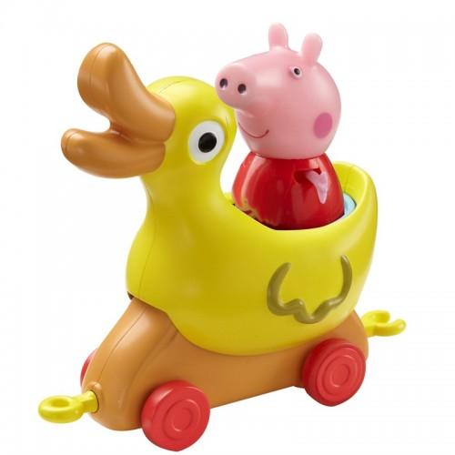 Купить Игровой набор – Каталка Уточка с фигуркой из серии Свинка Пеппа, Росмэн