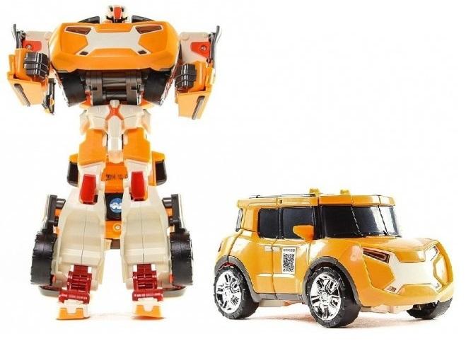 Трансформер Tobot Evolution X, с наклейками и ключом-токеном от Toyway