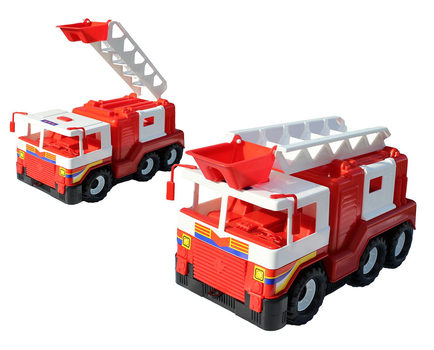 Пожарная машина с поднимающейся лестницейПожарная техника, машины<br>Пожарная машина с поднимающейся лестницей<br>