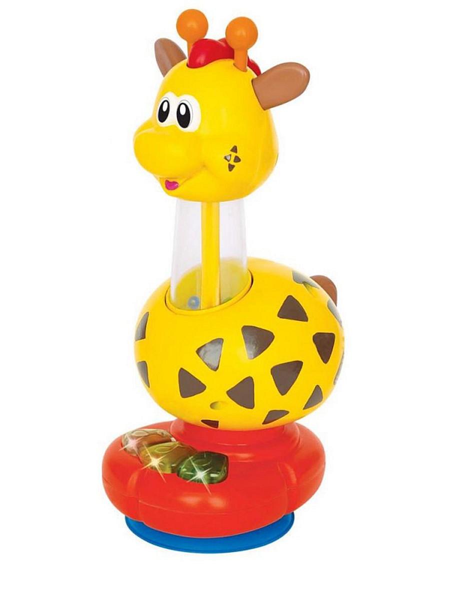Интерактивная развивающая игрушка ЖирафРазвивающие игрушки KIDDIELAND<br>Интерактивная развивающая игрушка Жираф<br>