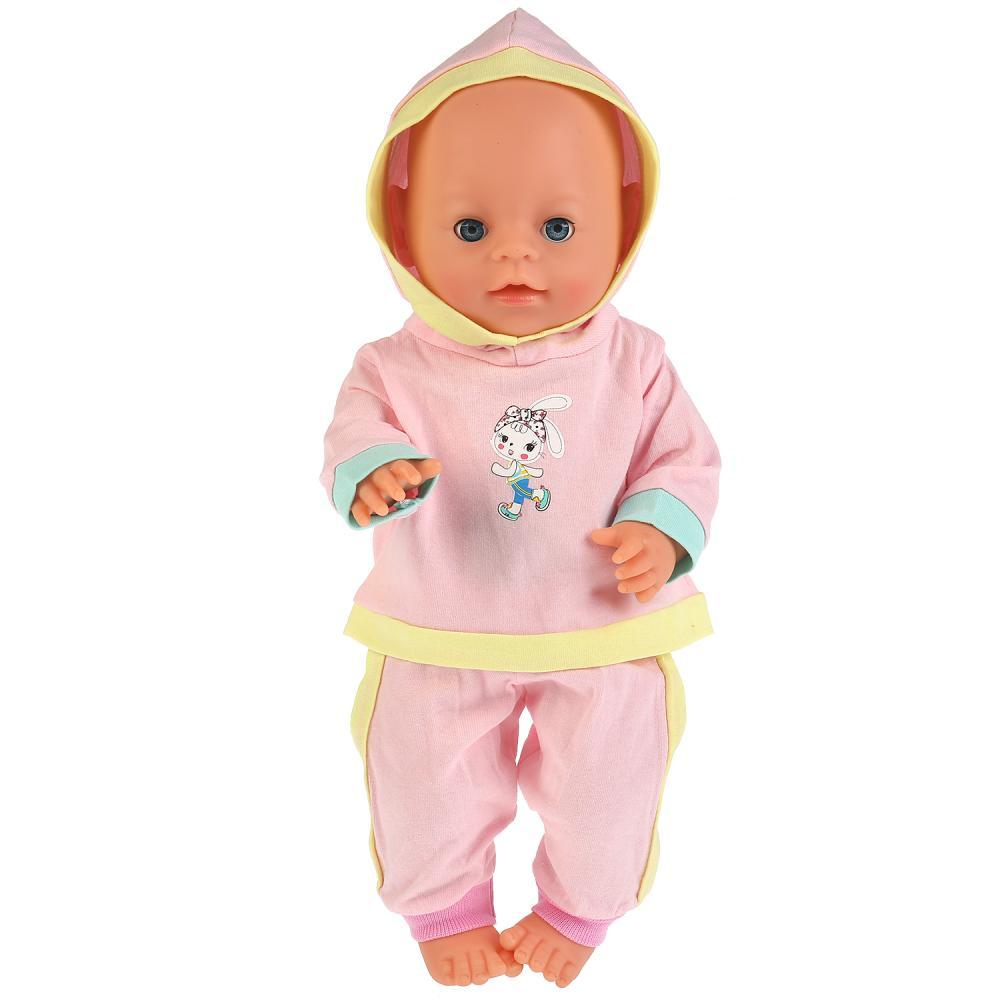 Купить Одежда для кукол размером 40-42 см. – Розовый спортивный костюм, Карапуз