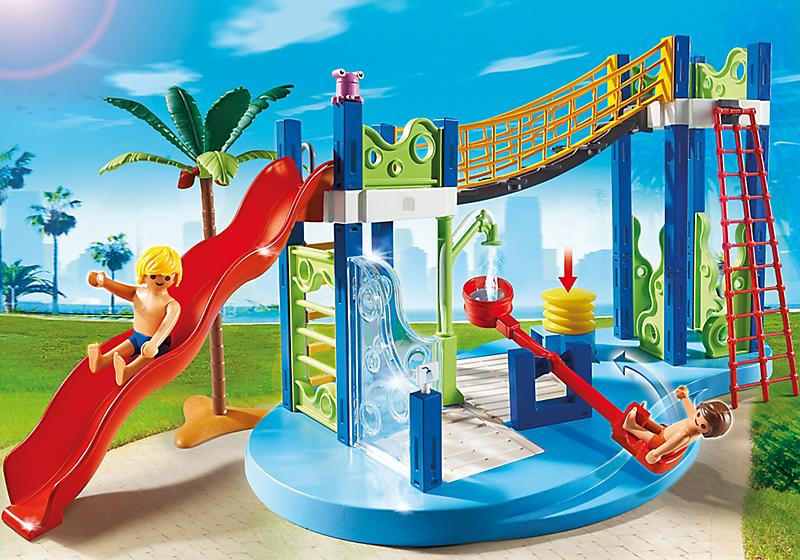 Игровой набор из серии «Аквапарк» - Игровая площадкаВеселые каникулы<br>Игровой набор из серии «Аквапарк» - Игровая площадка<br>