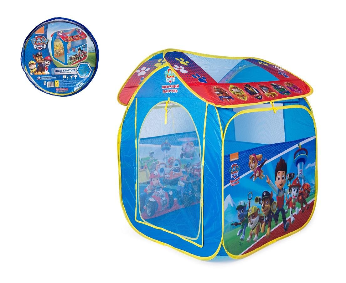 Купить Игровая палатка в чехле TM Paw Patrol - Щенячий Патруль, Росмэн