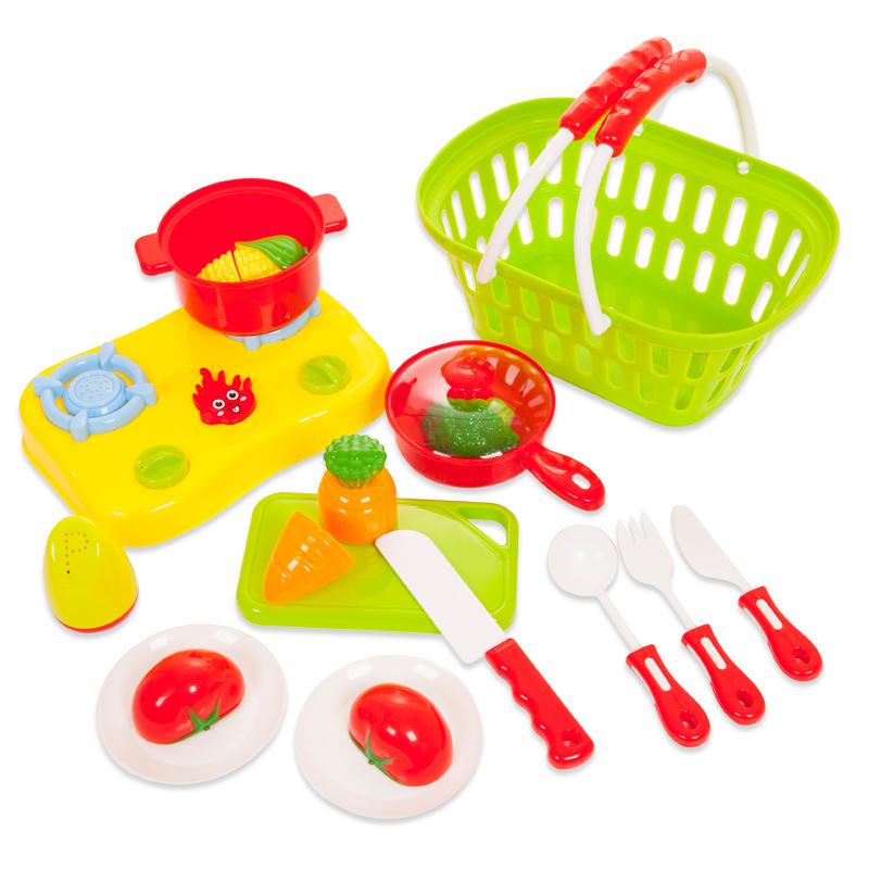 Помогаю Маме. Набор продуктов для резки на липучках, 23 предметаАксессуары и техника для детской кухни<br>Помогаю Маме. Набор продуктов для резки на липучках, 23 предмета<br>