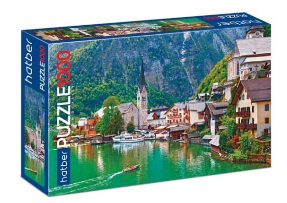 Пазл Premium 1000 элементов – Сказка в Альпах