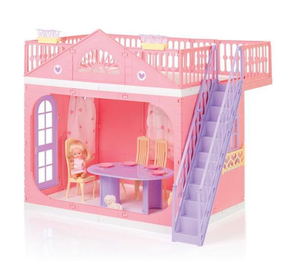 Кукольный домик Маленькая принцесса, Огонек  - купить со скидкой