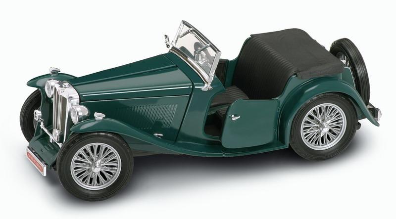 Коллекционный автомобиль 1947 года - ЭмДжи Миджет, масштаб 1/18Винтажные модели<br>Коллекционный автомобиль 1947 года - ЭмДжи Миджет, масштаб 1/18<br>