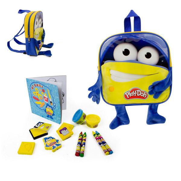 Набор из серии Play doh - Рюкзачок для мальчика с плюшевыми ручками и ножками
