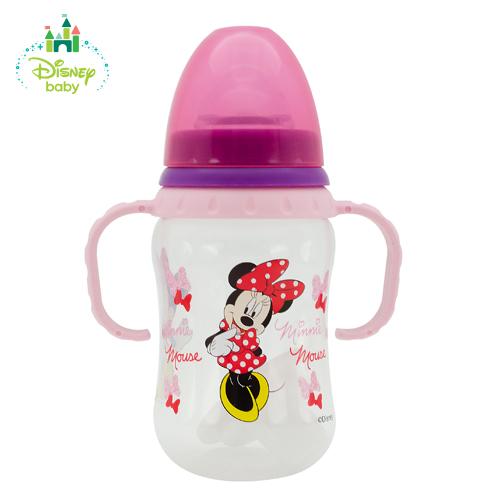 Бутылочка для детского питания из серии Микки и Минни с силиконовой соскойТовары для кормления<br>Бутылочка для детского питания из серии Микки и Минни с силиконовой соской<br>