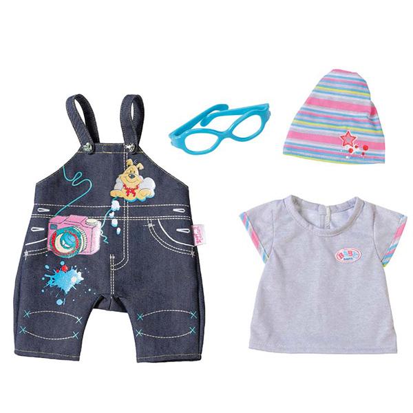 Одежда Джинсовая для кукол из серии Baby bornОдежда Baby Born <br>Одежда Джинсовая для кукол из серии Baby born<br>
