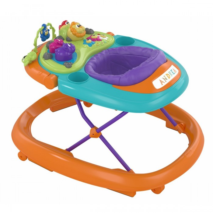 Ходунки Walky Talky Baby Walker, цвет Orange WaveХодунки<br>Ходунки Walky Talky Baby Walker, цвет Orange Wave<br>