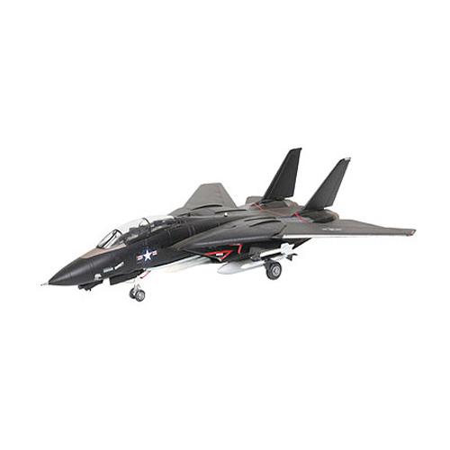 Сборная модель - Военный самолет F-14 Tomcat - Black BunnyМодели самолетов для склеивания<br>Сборная модель - Военный самолет F-14 Tomcat - Black Bunny<br>