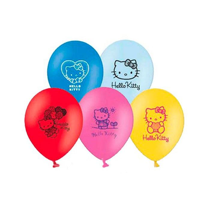 Шарик надувной с рисунком Хелло Китти, 30 смВоздушные шары<br>Шарик надувной с рисунком Хелло Китти, 30 см<br>