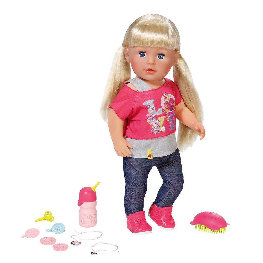 Кукла Munecas Antonio Juan Алисия в розовом 40 см 3368P
