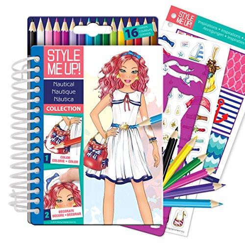 Скетчбук с карандашами - Морская коллекцияКниги для детского творчества<br>Скетчбук с карандашами - Морская коллекция<br>