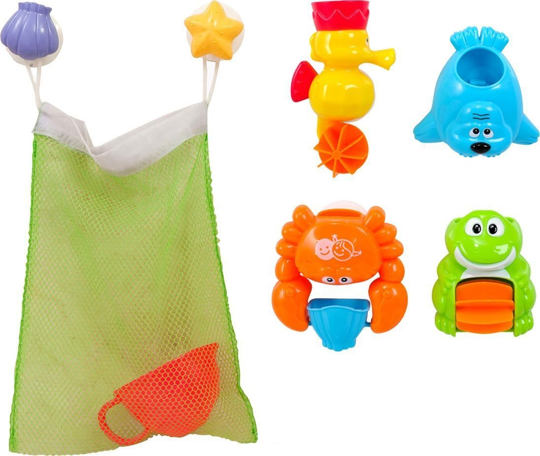 Игровой набор для ванной – ДрузьяРазвивающие игрушки<br>Игровой набор для ванной – Друзья<br>