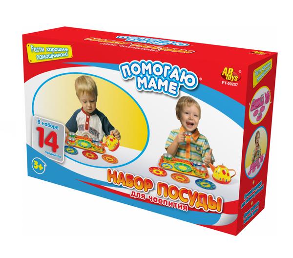 Игровой набор серии Помогаю Маме - Набор для чаепитияАксессуары и техника для детской кухни<br>Игровой набор серии Помогаю Маме - Набор для чаепития<br>