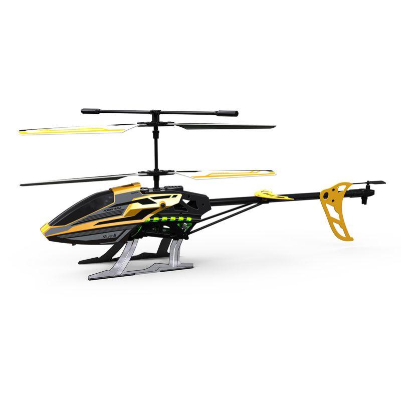 Радиоуправляемый 3-х канальный вертолет - Sky Eagle III, для улицы 46 см, желтый
