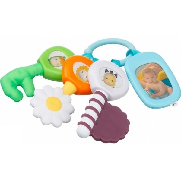 Многофункциональный брелок с ключамиДетские погремушки и подвесные игрушки на кроватку<br>Многофункциональный брелок с ключами<br>