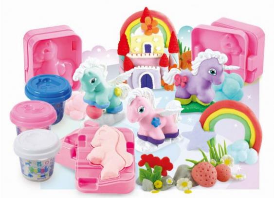 Набор с пластилином - Волшебные пониНаборы для лепки<br>Набор с пластилином - Волшебные пони<br>