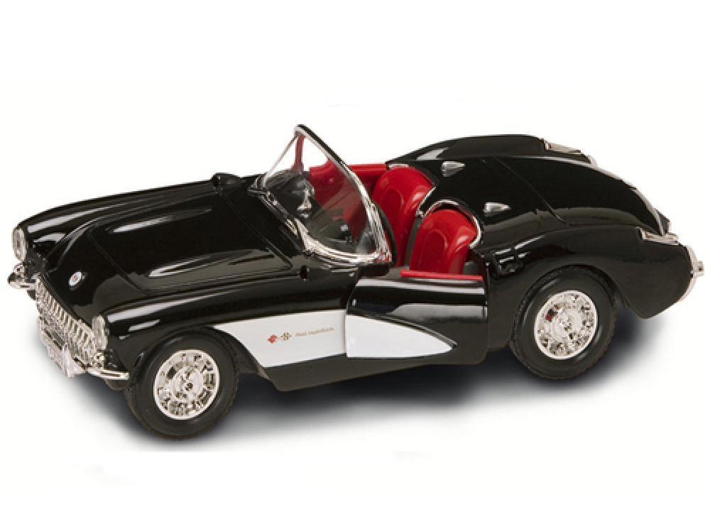 Коллекционный автомобиль - Шевроле Корветт образца 1957 года, масштаб 1:24 от Toyway