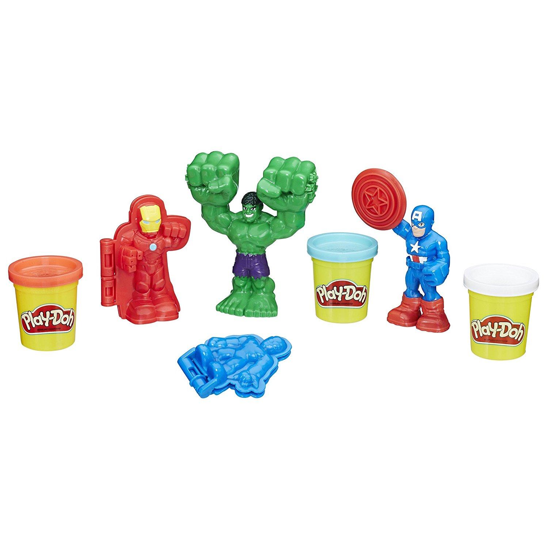 Купить Игровой набор Play-Doh - Герои Марвел, Hasbro