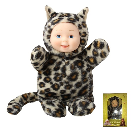 Кукла из серии «Детки-леопардики», 15 смКуклы детки ANNE GEDDES<br>Кукла из серии «Детки-леопардики», 15 см<br>