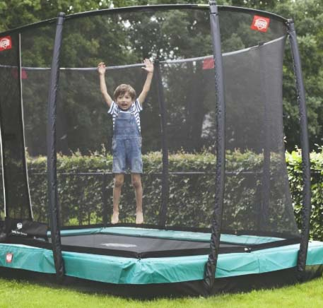 Батут Berg Ultim Champion InGround 330 Green + Safety Net Deluxe