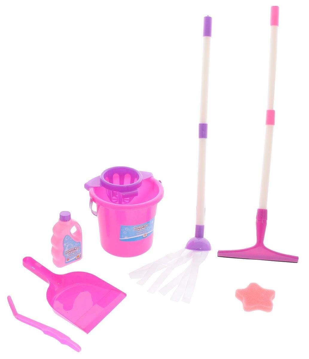 Игровой набор «Генеральная уборка», 7 предметовУборка дома, стирка, глажка<br>Игровой набор «Генеральная уборка», 7 предметов<br>