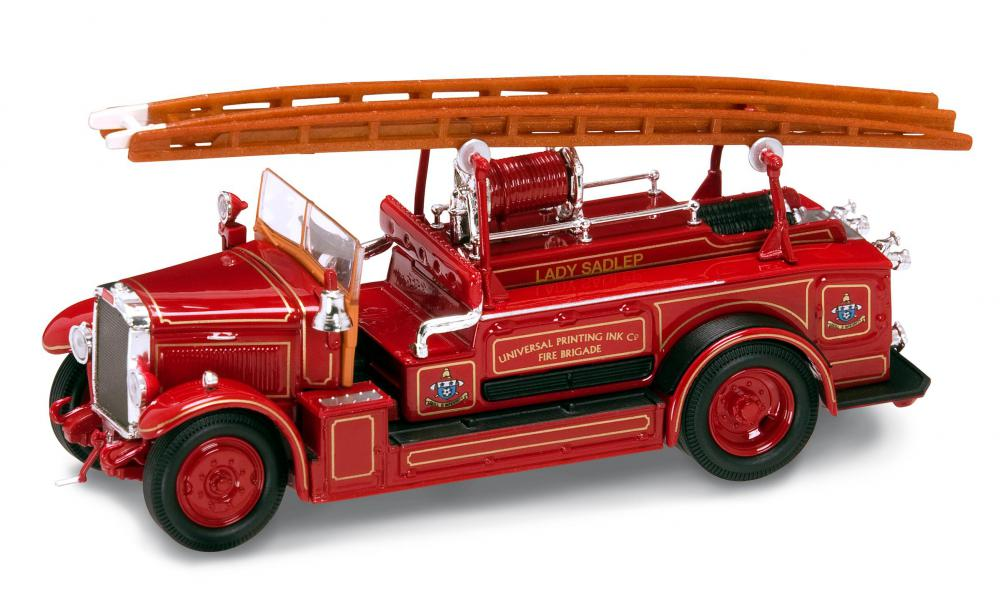 Модель пожарного автомобиля Лейланд FK-1, образца 1934 года, масштаб 1/43Пожарная техника, машины<br>Модель пожарного автомобиля Лейланд FK-1, образца 1934 года, масштаб 1/43<br>