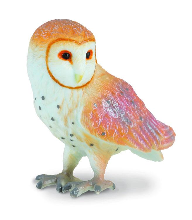 Фигурка Gulliver Collecta - Амбарная сова, SДикая природа (Wildlife)<br>Фигурка Gulliver Collecta - Амбарная сова, S<br>