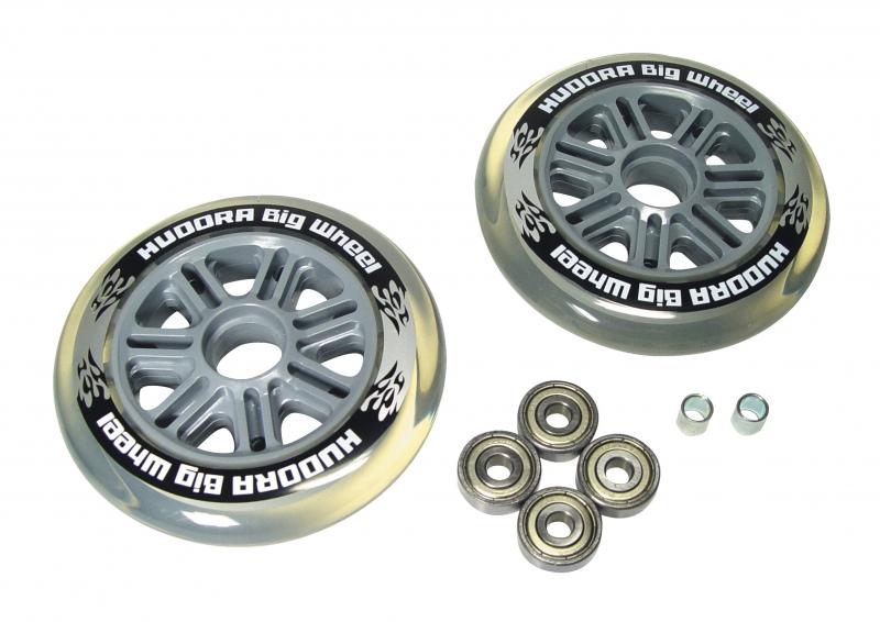 Купить Колеса для самокатов Big Wheel, диаметр 125 мм, прозрачные, Hudora
