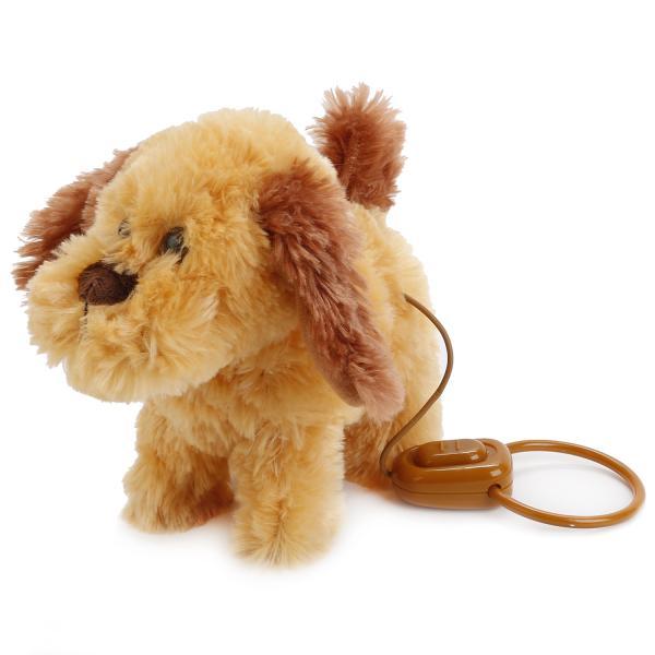 Купить Интерактивный щенок 4 функции, пульт-поводок, ходит, с музыкой, My Friends