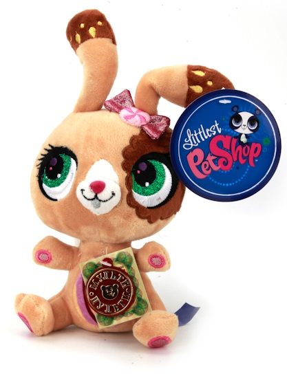 Кролик Littlest Pet Shop, озвученный, 17 см.Littlest Pet Shop – Маленький зоомагазин<br>Кролик Littlest Pet Shop, озвученный, 17 см.<br>