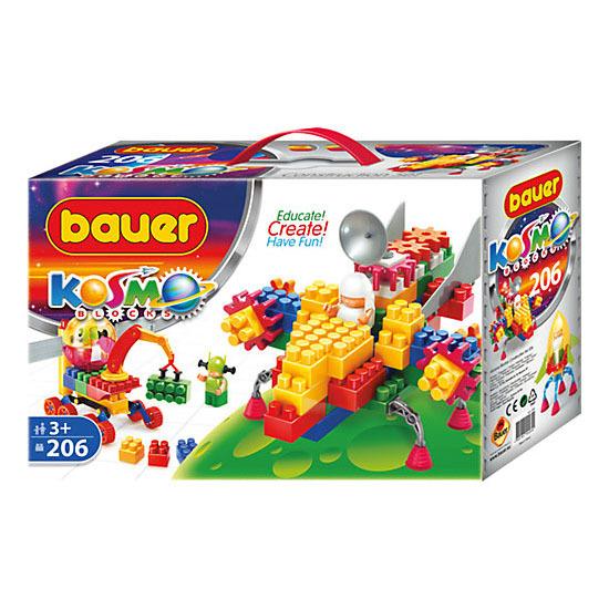 Конструктор серия «Космос», 206 элементов - Конструкторы Bauer Кроха (для малышей), артикул: 127403