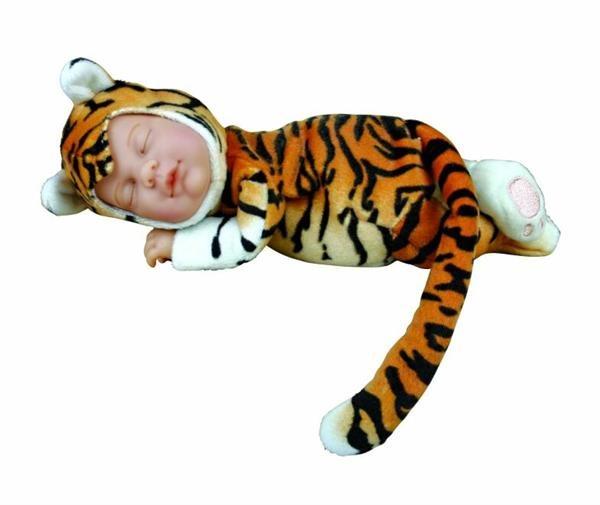 Кукла из серии - Детки-тигры, 23 смКуклы детки ANNE GEDDES<br>Кукла из серии - Детки-тигры, 23 см<br>