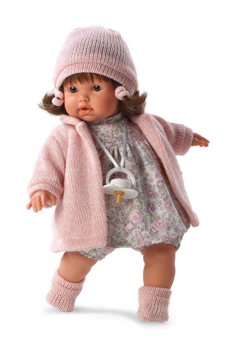 Кукла Айсель 33 смИспанские куклы Llorens Juan, S.L.<br>Кукла Айсель 33 см<br>