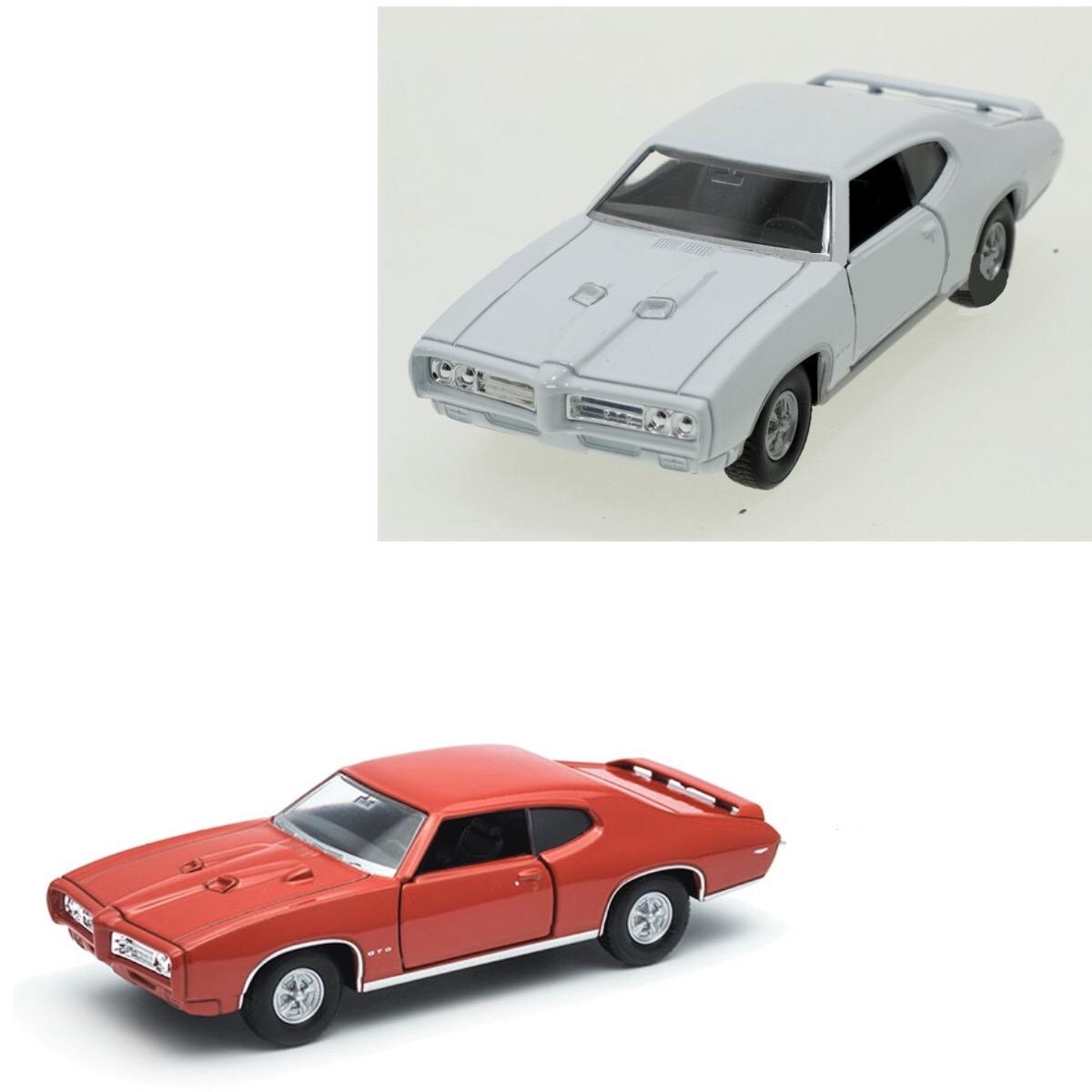 Модель винтажной машины - Pontiac GTO, 1:34-39Винтажные модели<br>Модель винтажной машины - Pontiac GTO, 1:34-39<br>