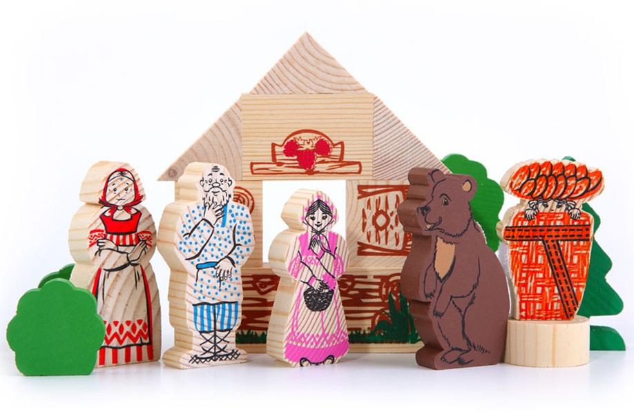 Конструктор - Маша и Медведь из серии Сказки от Toyway