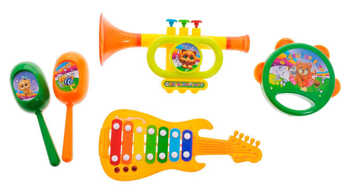 Набор музыкальных инструментов из 5 предметов,Музыкальные наборы<br>Набор музыкальных инструментов из 5 предметов,<br>